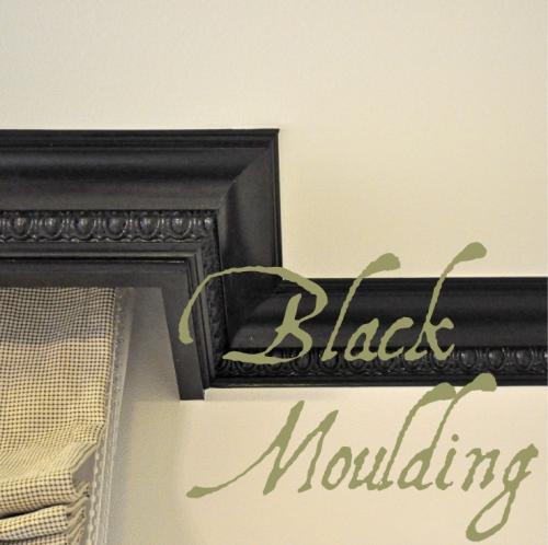 Black Moulding